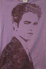 Twilight Saga Edward Cullen Purple Ladies Juniors Fit T-Shirt Size L NWT
