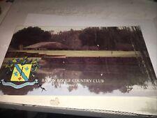 Baton Rouge Country Club Scorecard