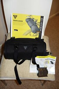 TOPEAK FRONTLOADER - HADLEBAR BAG - USED FOR A 1 WEEK TRIP