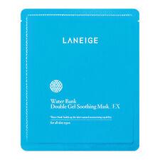 LANEIGE Korean Water Bank Double Gel Soothing Facial Mask Sheet EX Face Pack