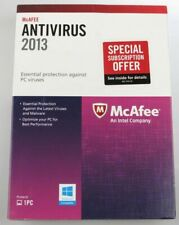 McAFEE Antivirus 1PC Retail Essential Protection Version Updates to 2019/20 NEW