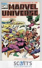OFFICIAL HANDBOOK OF THE MARVEL UNIVERSE  #1   FN/VF