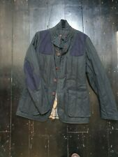 Barbour Waxed Quilted Jacket limited edition  Size L Navy