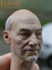 """1:6 Scale KUMIK 15-56 male head Sculpt F 12"""" Hot Toys Phicen Action Figure Gifts"""