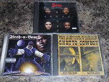 Bone Thugs-N-Harmony 3 CD Lot - Single Tha Crossroads MO THUGS Flesh N Bone