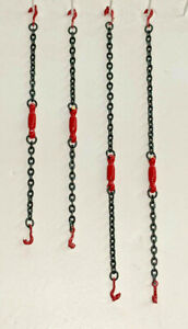 Tractor Trailer Equipment Chain Tensioners - In Authentic Manitowoc Red 1/87th