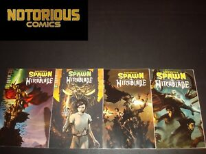 Medieval Spawn Witchblade 1-4 Complete Cover A Comic Lot Run Set Collection
