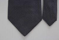 Charles Tyrwhitt London Grayish Silk Box Pattern NECK TIE