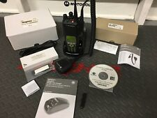 MOTOROLA XTS5000 MODEL III 800MHZ.  DIGITAL POLICE RADIO PKG. 9600 BAUD, LOADED!