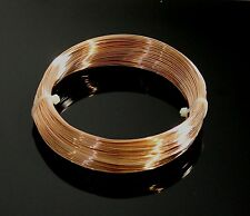 20 Ga Bronze Wire (100 Ft. Coil ) SOFT Craft & Wire Wrapping   USA