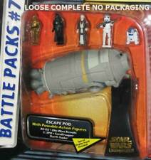 STAR WARS MICRO MACHINES BATTLE PACKS #7 REBEL ESCAPE - LOOSE COMPLETE NEW