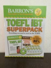 Barron's TOEFL iBT Superpack + CDs