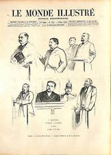 Léopold Émile Aron Arton Eugène Dupas Henry Soinoury Scandale de Panama 1896