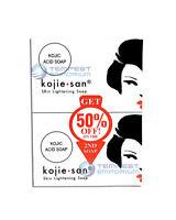 Kojie San Skin Lightening Soap 2 x 135g Kojic Acid Whitening Official