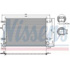 1 Condenseur, climatisation NISSENS 94665 convient à AUDI