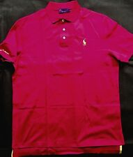 Ralph Lauren Purple Label Fuschia POLO CAMICIA MADE IN ITALY TAGLIA XXL