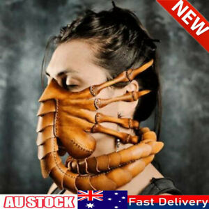 Halloween Party Funny Face Mask Scorpion Mask Alien Facehugger Latex Mask