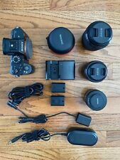 Sony Alpha a7S II with Three Lenses