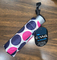 Raintec Pink /& White Polka Dot Design Umbrella