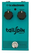 TC Electronic Tailspin All-Analog Vibrato Guitar Effects Pedal