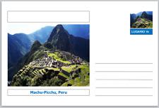 "Landmarks - souvenir postcard (glossy 6""x4""card) - Machu Picchu, Peru"