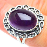 Amethyst 925 Sterling Silver Ring Size 7.5 Ana Co Jewelry R55521F
