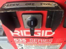 Ridgid 535 Switch Knob Amp Plate For A Ridgid 535 535a 1822 Pipe Threader New