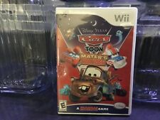 Wii. Disney CARS toon Maters Tall Tales. Video game. With instructions books.