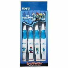 PACK OF 4 Brush Buddies The Smurfs Manual Toothbrush