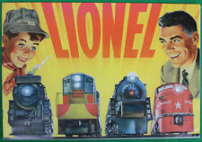 Original 1954 Lionel Train Catalog