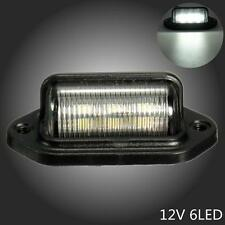 LED LICENSE PLATE TAG LIGHT INTERIOR STEP LAMP 12V BOAT TRAILER RV TRUCK US