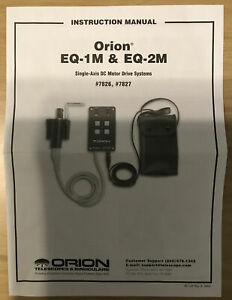 Orion EQ-1M Motor Drive Systems #7826