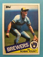 1985 Topps Milwaukee Brewers  Complete Team Set - Fingers/Molitor/Simmons/Yount
