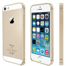 For iPhone SE,5,5S Metal Anodized Bumper Style Protective Cover Guard Case GOLD