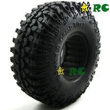 4pcs RC 1.9 Crawler Tires Tyre 114mm Fit RC Rock Crawler 1.9 Beadlock Rims Wheel