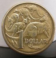 1985 Australian $1 coin. Free postage Australia.