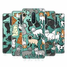 Head Case Designs Cat Breed Patterns 2 Soft Gel Case For Amazon Asus Oneplus