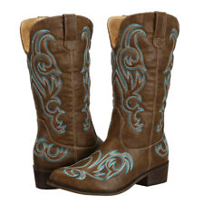 AU Stock New Western Cowgirl Cowboy Boots for Women Country Wedding Bridal Shoes