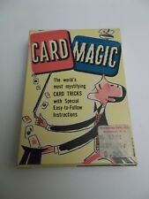 Card Magic Deck Ed-U-Cards world's most mystifying card tricks with instructions
