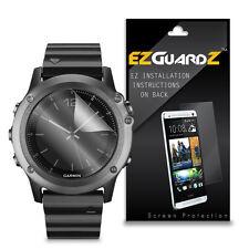 4X EZguardz LCD Screen Protector Skin HD 4X For Garmin Fenix 3 Sapphire (Clear)