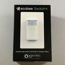 New Other Ecobee Smart Switch+ Plus White Eb-Smswv-01 with Amazon Alexa