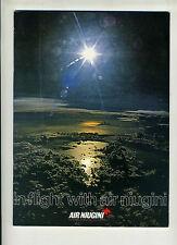 (125) In flight with Air Niugini