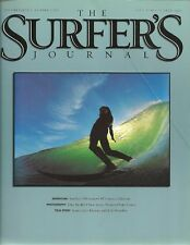 The Surfer'S Journal Magazine - Vol.11 #4 - Fall 2002 - Sumba's Nihiwatu