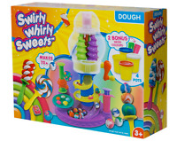 Swirly Whirly Sweets Set Ready Steady Dough with BONUS - Brand New in Box