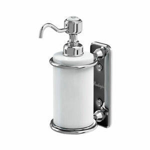 Burlington Single Soap Dispenser Wall Mounted Brand New, A19 CHR