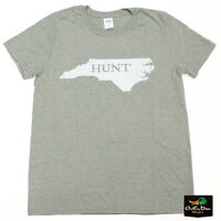 RIG'EM RIGHT WATERFOWL HUNT NC TEE GRAPHIC T-SHIRT SAGE GREEN 2XL