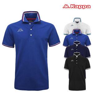 Polo Uomo Kappa Manica Corta T-shirt Cotone Maglia Casual Regular Fit