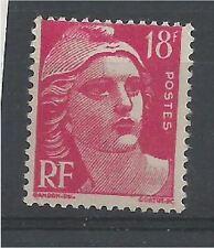 N° 887 Marianne de Gandon 18 F rose carminé neuf ** année 1951 cote 20,00 €