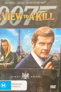 James Bond : 007 : A View To A Kill : DVD : Roger Moore