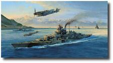 Knights Move by Robert Taylor - Battleship Tirpitz -WWII - Naval Artwork - Decor